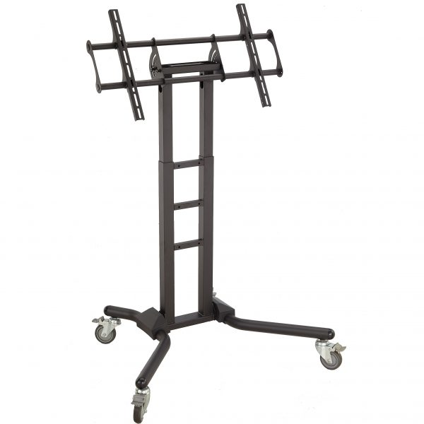 """FS1069 Heavy duty TV trolley floor stand for 70""""-120"""" Interactive touch screen"""