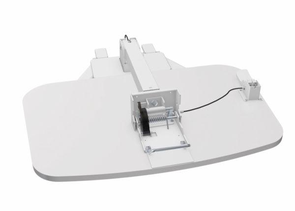 Allcam WST01 folding standing laptop desk lectern flat