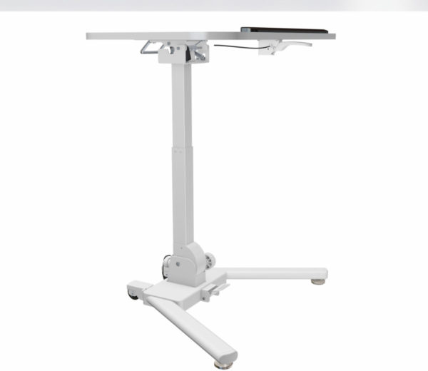 Allcam WST01 folding standing laptop desk lectern tall