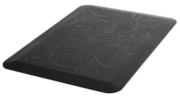 Allcam AFM02 Anti-Fatigue Mat for Office & Kitchen, Companion for Sit-Stand Desks & Workstations