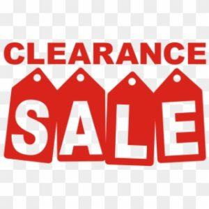 Clearance Bargain
