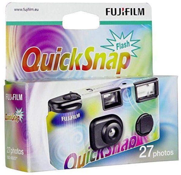 Fujifilm quicksnap flash single use camera fuji suc 27
