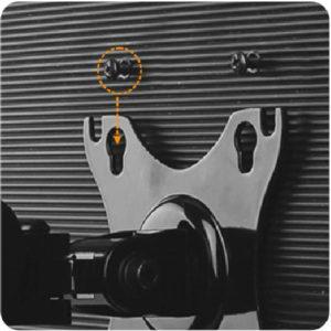 GU31S GU32D gas spring LCD monitor arm stand vesa mount