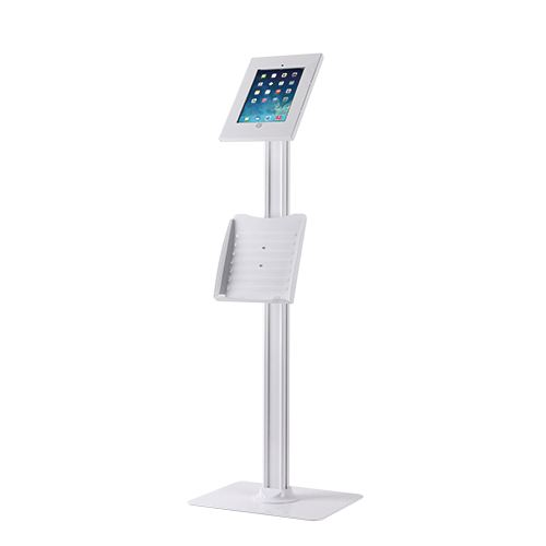 IPP2604L Tablet Floor Stand with A4 document tray