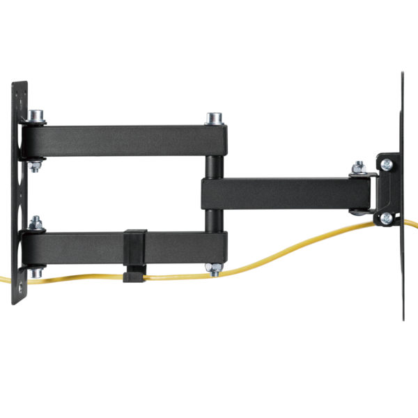 Allcam L293XS Swivel Arm TV Wall Bracket Universal for 19, 22, 24, 27, 32 -inch LCD/LED TVs VESA 200 up to 35 kg (new 2021)