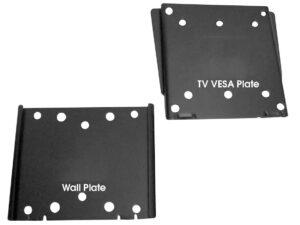 Allcam LCD110 slide in super slim LCD TV wall mount bracket two simple plates design