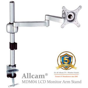 mdm04 for 1x LCD 6kg Tilt_Swivel_Rotate_Silver
