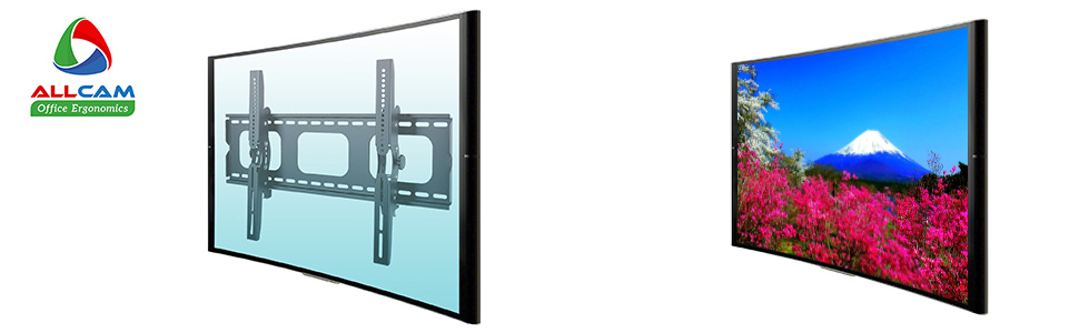 plb103s tilt tv wall mount bracket screen on off