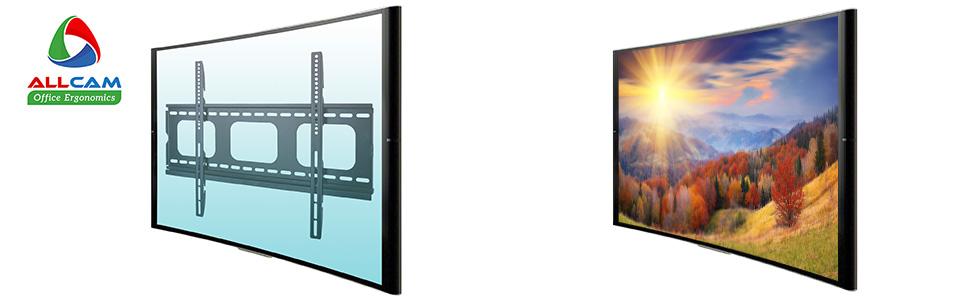 PLB105-series super slim tv wall mount bracket screen on off banner