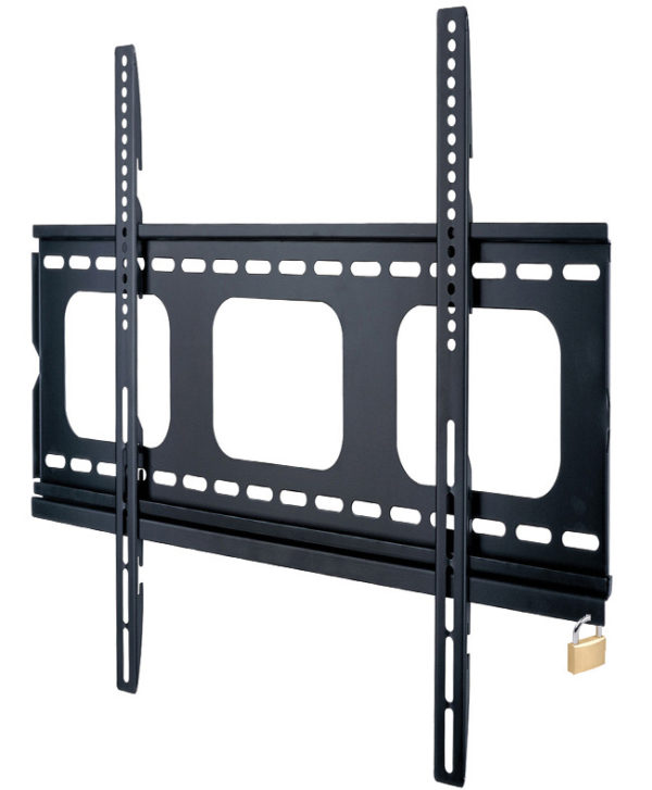 plb105 super slim tv wall bracket anti-theft security bar