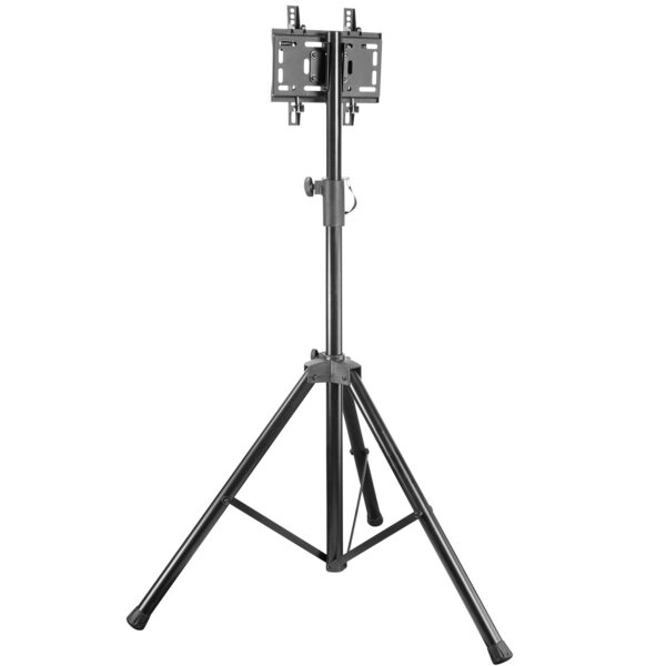 Allcam TR940A Portable Tripod TV Stand VESA 200x200 back view tilt