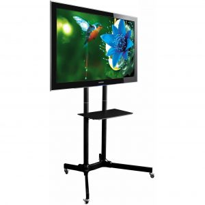 TT411 cheap TV trolley floor stand LCD