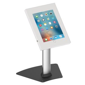 IPP1204 iPad Pro 12.9 table desk stand kiosk in White