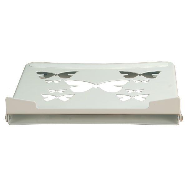 """Allcam LPS01S Smart Folding Laptop Riser for Universal 10"""" -15.6"""" Notebooks flat"""