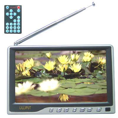 "Lilliput 518GL-80TV 8"" LCD TV/Monitor 12v 16:9"