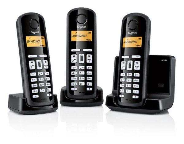 Gigaset AL110A Trio DECT Digital Cordless Phone with answer machine