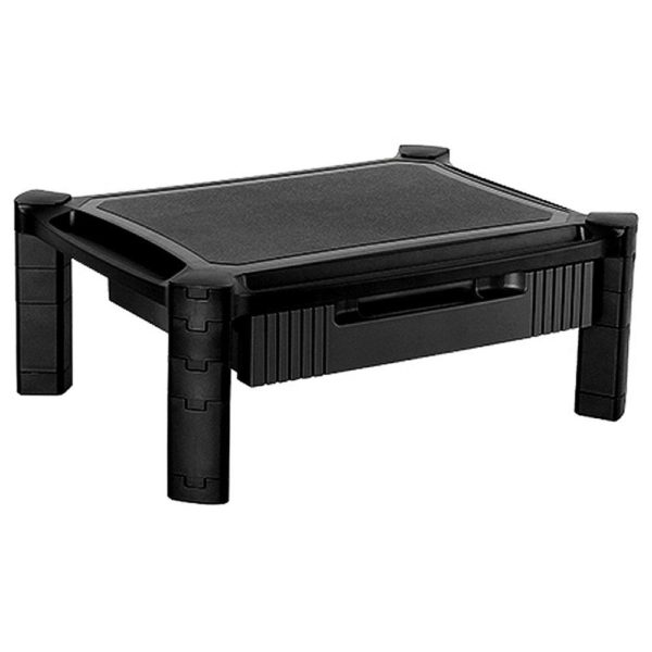 AMS01B - Laptop/Printer/Monitor Stand Riser Height Adjustable (no drawer)