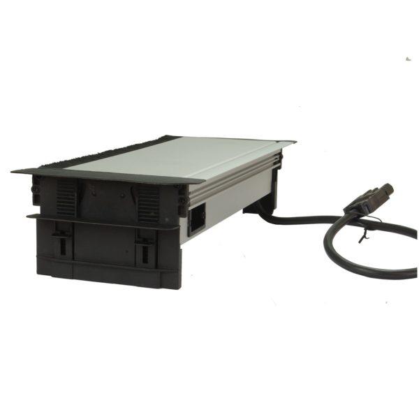 DPF44S3U2HL Flip-up Power 3 fused Socket+ 2 US+RJ45+ HDMI & 2m GST cable