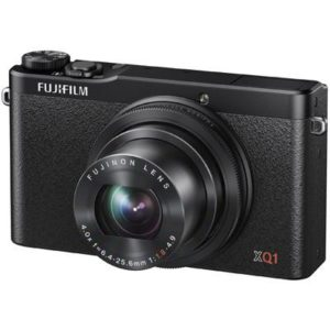 Fuji XQ1 Black Advanced Digital Camera. 12 MP CMOS Sensor, F1.8 Bright Lens