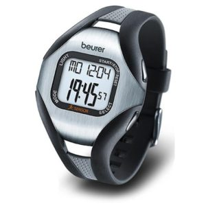 Beurer PM18 Strapless Heart Rate Monitor Exercise Activity Watch. Finger and Wrist sensor provide accurate heart rate reading and built in activity tracker.