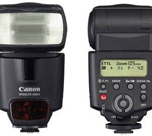 Canon Speedlite 430EX Flash for EOS Digital SLR Cameras