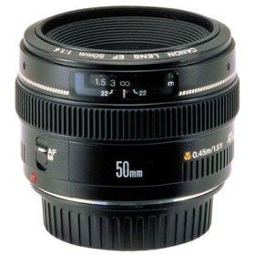 Canon EF 50mm f/1.4 USM Lens for EOS Digital SLR Cameras