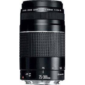 Canon EF 75-300mm f/4.0-5.6 III AutoFocus Lens
