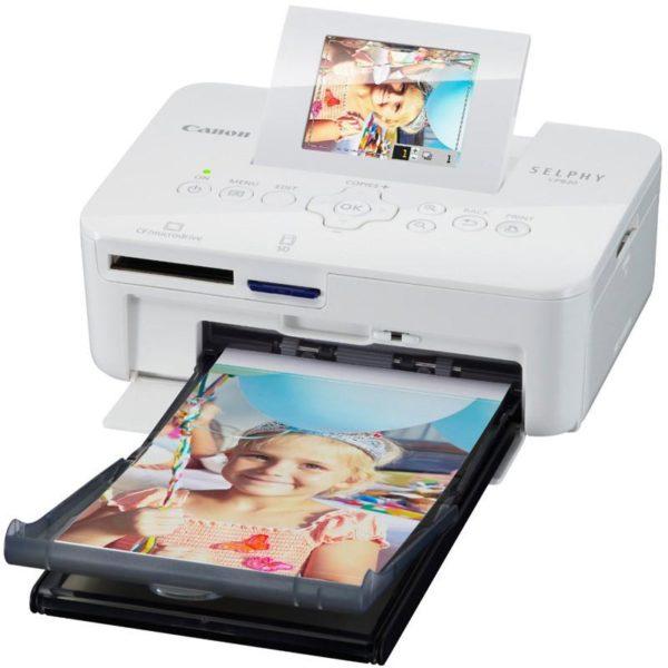 Canon Selphy CP820 White Home / Portable Home Photo Printer