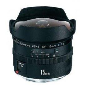 Canon EF 15mm f/2.8 Fisheye Lens for EOS digital SLR Camera