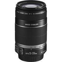 Canon EF-S 55-250mm f/4-5.6 IS Telephoto Zoom AutoFocus Lens