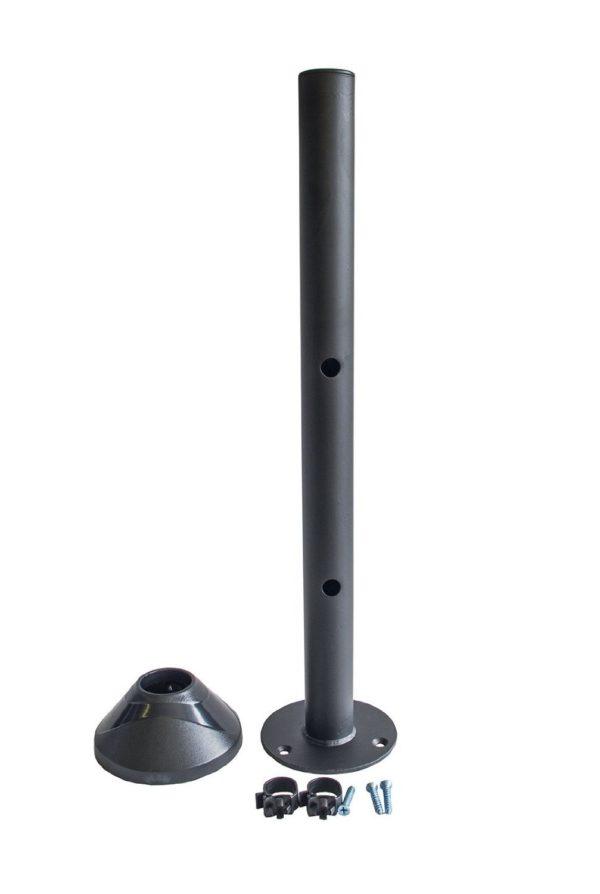 Short Pole Module (40 cm) w/ Circular Base for MDM11S, MDM12D, MDM12Q Desk Mount Monitor Arm