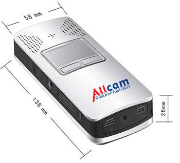 Allcam CP1 Handheld Computer WinCE Pocket PC w/ Portable Pico Projector