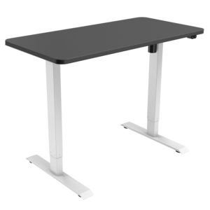 Single-motor height-adjustable sit-stand desk w/ 1200x800mm black top