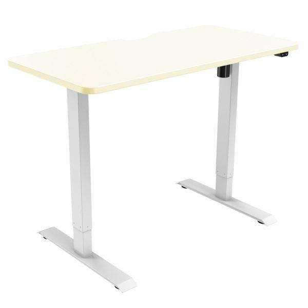 Allcam EDF21SS Electric Height Adjustable Sit-stand Desk Frame 71-121 cm - Oak desktop