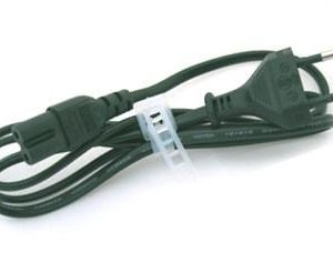 Figure-8 EU/Germany/France Mains 2-pin Power Supply Cable