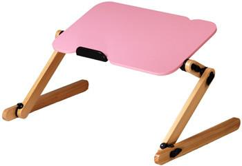 LeisuPod Foldable Laptop Desk FD301P Pink In-Bed Computting