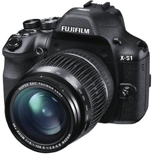 "Fuji XS1 (X-S1) Digital Bridge Camera 12MP EXR CMOS 26x Optical Zoom 3"" LCD"