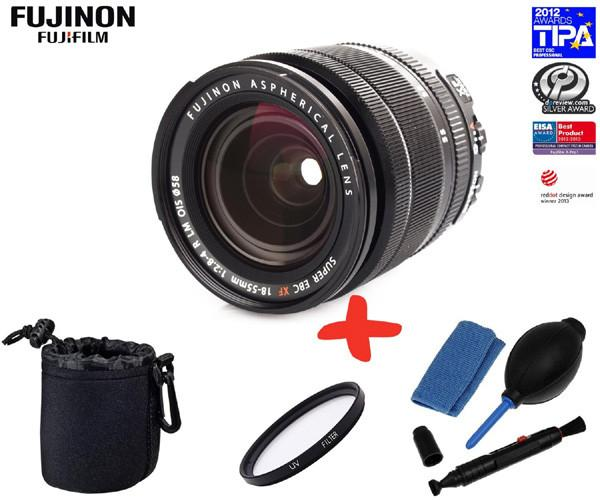 Fujinon XF 18-55mmF2.8-4 R LM OIS Lens for Fuji CSC Cameras (optional Accessory Kit)