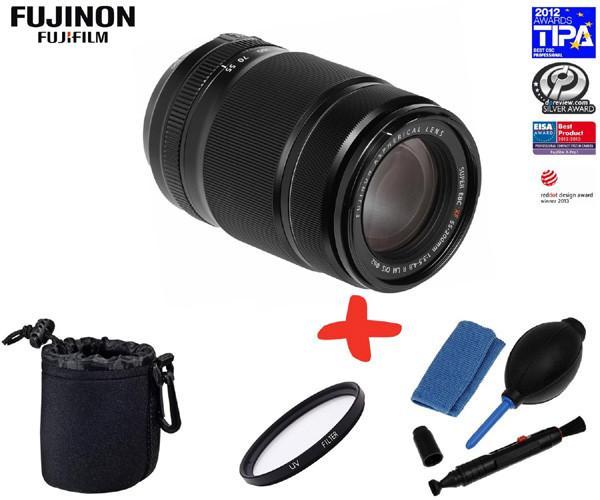 Fuji XF 55-200mm f3.5-f4.8 R LM OIS Lens (optional Accessory Kit)