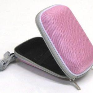 Pink Hard Case for Compact Digital Cameras Canon Fuji Sony Nikon