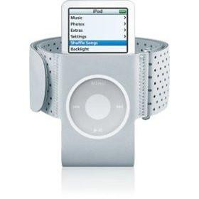 iPod Nano Armband in Grey for iPod Nano II/ 2nd Generation