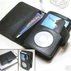 Executive Leather Case for iPod Video Black