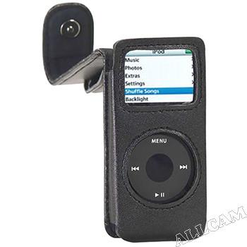 iPOD Nano Leather Carry Case for iPod Nano All Generations