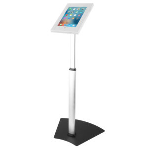 IPA1205AW tablet floor stand for 9.7 10.5 iPad Air pro White