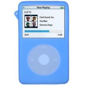Silicone Skin/Case for iPod Video 60/80GB Blue