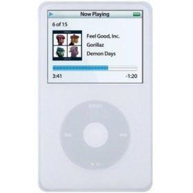 Silicone Skin/Case for iPod Video 60/80GB Ice White