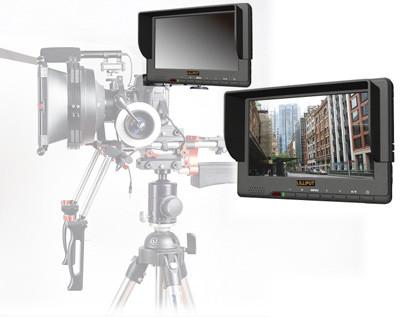 Lilliput 667GL 7'' LCD HD Field Monitor for Professional Video Cameras w/ HDMI, YPbPr, RCA, XLR