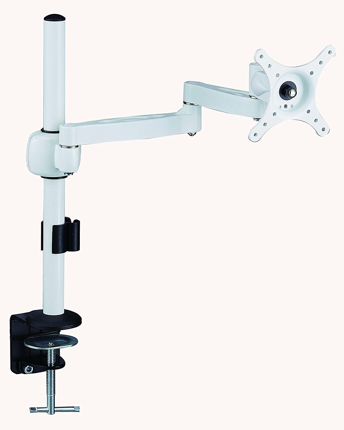 MDM04 LCD Monitor Stand Desk Mount Bracket Dual Arms Swivel & Tilt (Colour Options Available)