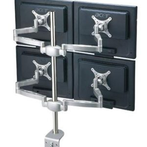 MDM07 Multi Screen Desk Mount Bracket: Quadruple LCD Monitor ver.