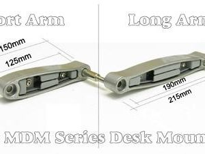Extension Arm Section Module for Allcam MDM0-series LCD Monitor Arm Stands (arm length Options)